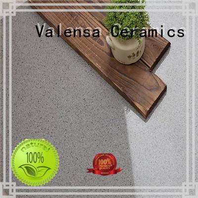 Valensa Ceramics body white polished porcelain tiles supplier for indoor