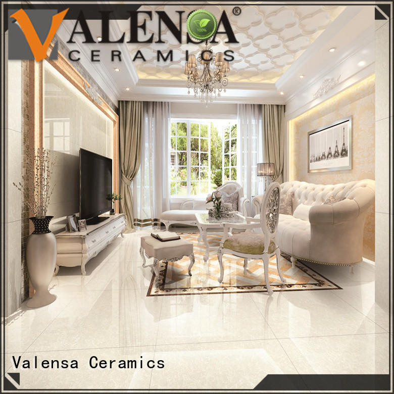 Valensa Ceramics online high gloss porcelain tile supplier for house