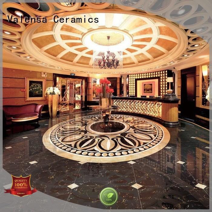 Valensa Ceramics tiles dark emperador marble tiles supply for villas
