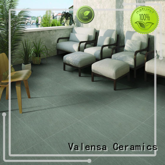 Valensa Ceramics high quality 20mm outdoor porcelain tiles customized for home