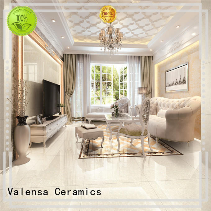 Valensa Ceramics Latest high gloss porcelain tile factory for house