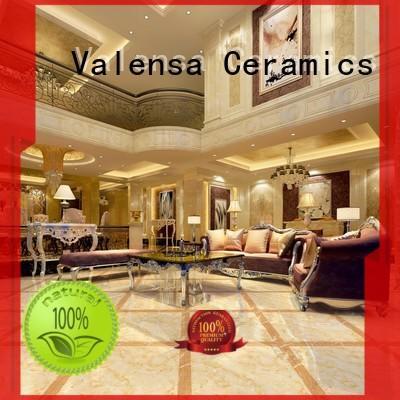 Valensa Ceramics marble diamond floor tile for business for house