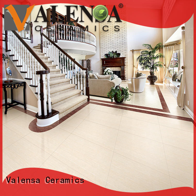Valensa Ceramics Custom double charge floor tiles factory for indoor