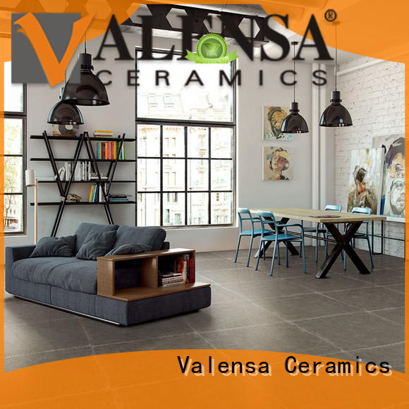 Valensa Ceramics garden glazed porcelain series for villas