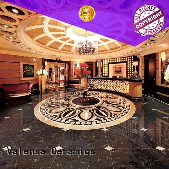 Valensa Ceramics marble dark porcelain tile company for indoor
