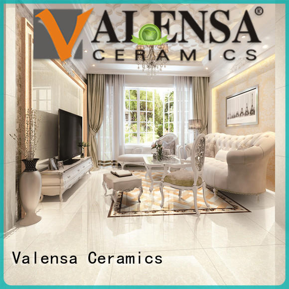 Valensa Ceramics polished platinum tile for business for house