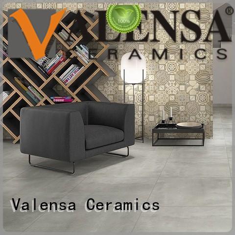 Valensa Ceramics Latest polished concrete floor tiles factory for villas