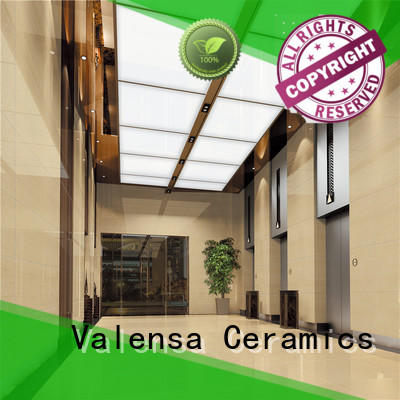 Valensa Ceramics professional high gloss porcelain floor tile series for villas