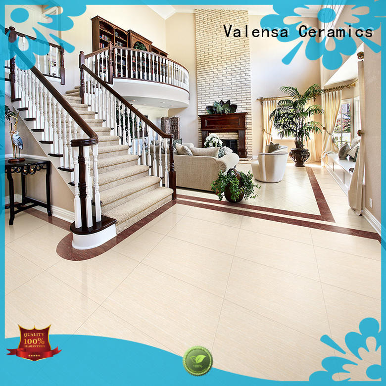 Valensa Ceramics Latest double charge floor tiles manufacturers for home