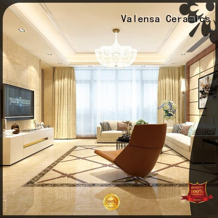 Valensa Ceramics wall white marble floor tiles supply for villas