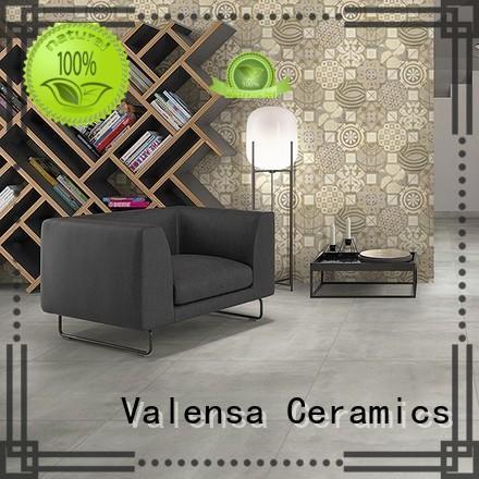 Valensa Ceramics porcelain porcelain cement tiles factory for home