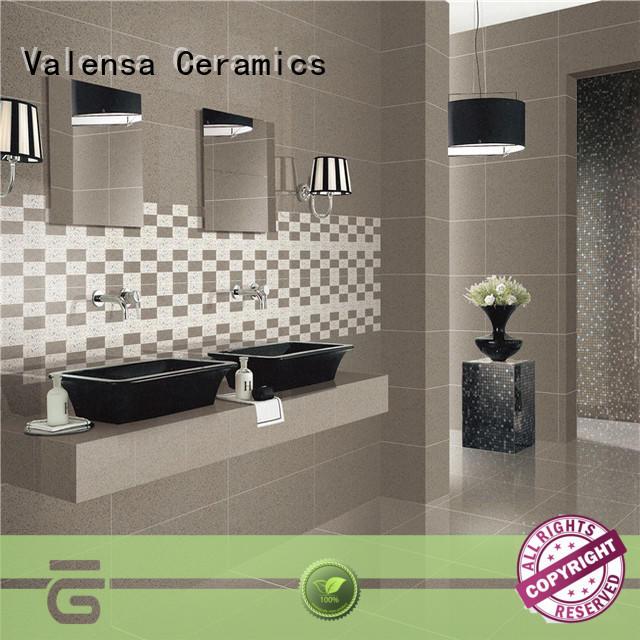 Valensa Ceramics Best polished porcelain floor tile company for villas