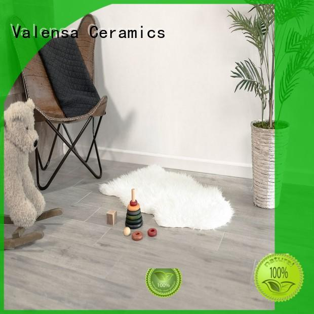 Valensa Ceramics Latest grey porcelain wood tile supply for home
